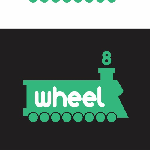 Logo Creation - 8 Wheel - Web & Mobile Application Dev Startup