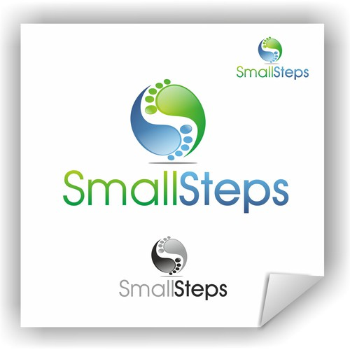 New logo and business card wanted for SmallSteps