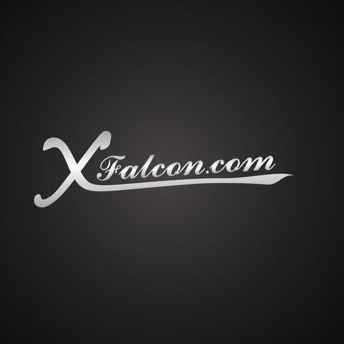 Create a modern sleek car sticker for enthusiasts of old Falcon cars