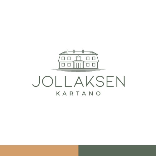 Logo for a 100-year-old mansion in Helsinki