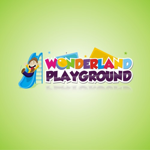 New logo and business card wanted for WONDERLAND PLAYGROUND