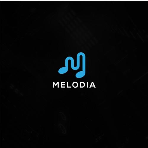 Logo concept for Melodia