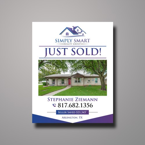 Just Sold Sign