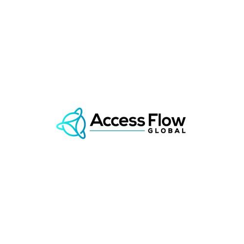 Logo design for visitor management software.