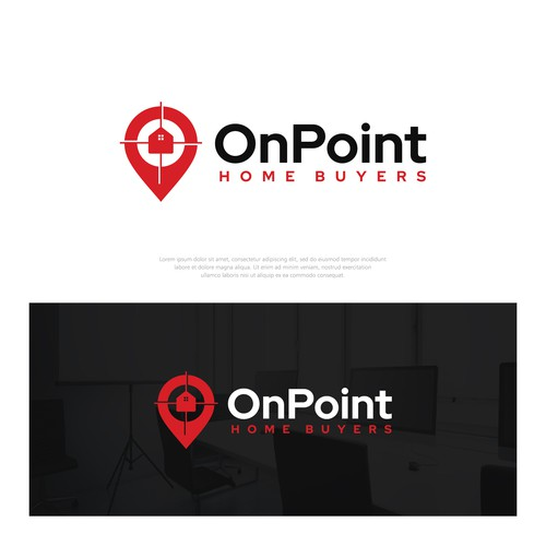 Logo concept for OnPoint Home Buyers