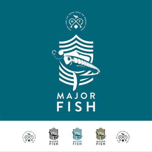 Logoconcept for plastic-lure fishing