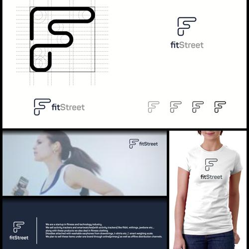 FitStreet Logo design
