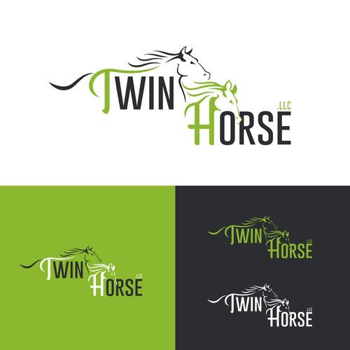 twin horse logo