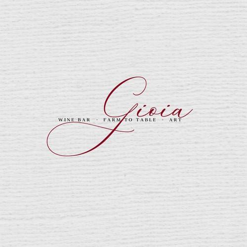 Gioia Logo Design