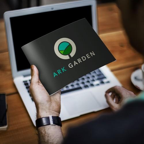 Logo concept for Ark Garden