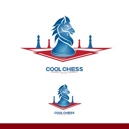 Cool Chess Logo Concept
