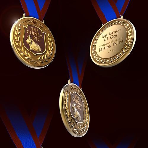 Commemorative Medal 3D