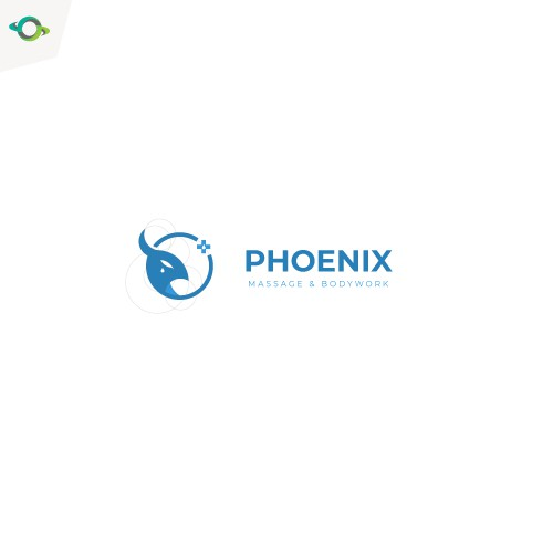Logo concept fot a phoenix