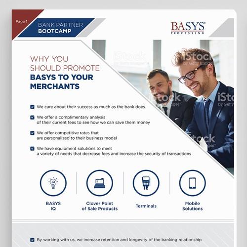 Bank Partner Bootcamp flyer design
