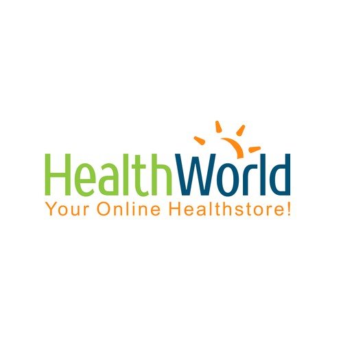 HealthWorld needs a logo that people can feel good about