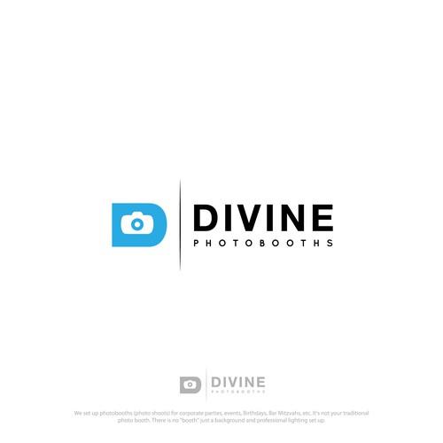 logo for DiVINE PHOTOBOTH