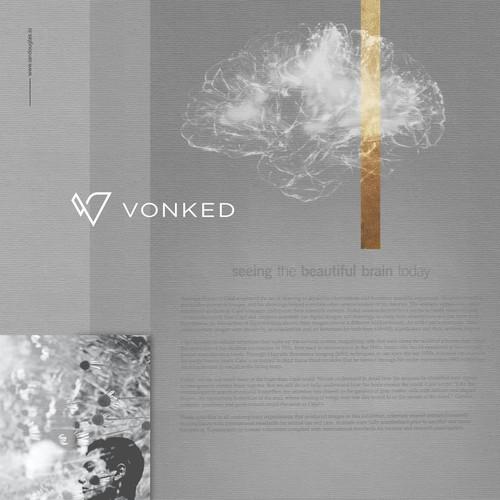 Minimalist mark for Vonked