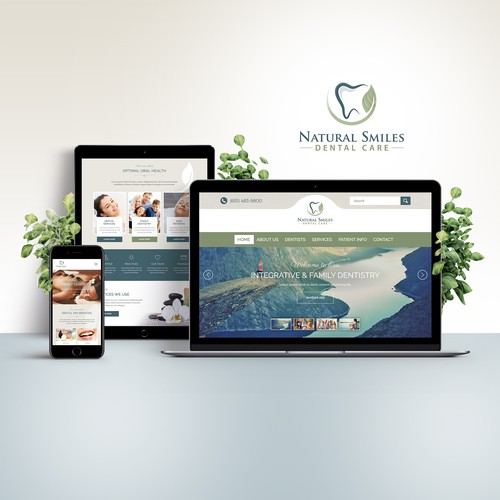 Website Design | Natural Smiles Dental Care