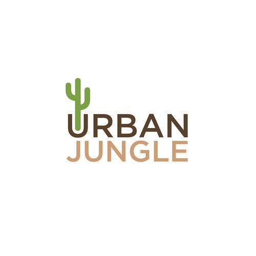 Urban Jungle Logo Concept