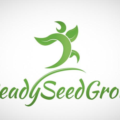 Create a capturing distinctive logo for ReadySeedGrow