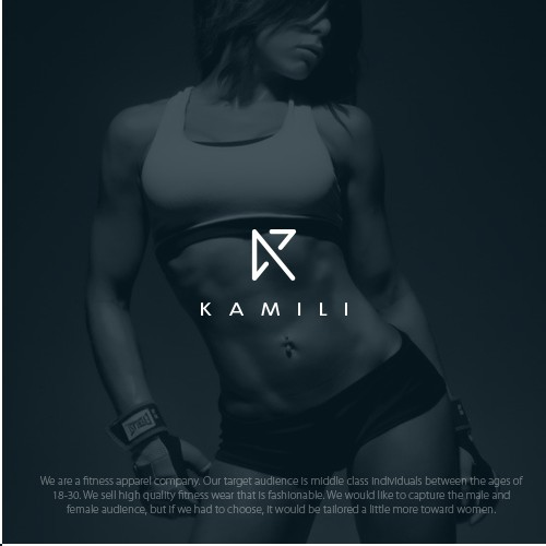 fitness apparel company logo