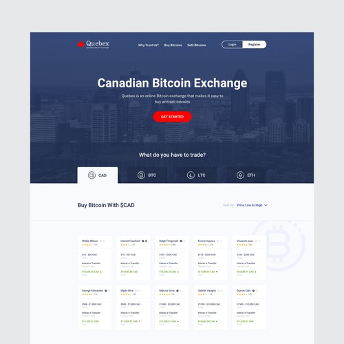 Quebec Homepage