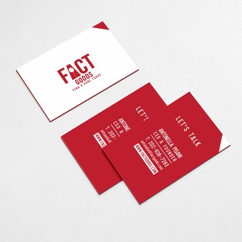 Business Card for Charity Organization