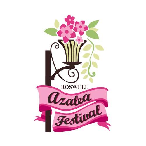 Azalea Festival Logo