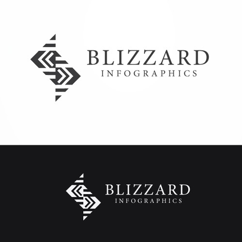 Logo Design for Blizzard Inforgraphics