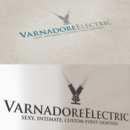 Help Varnadore Electric or Varnadore Electric Service with a new logo