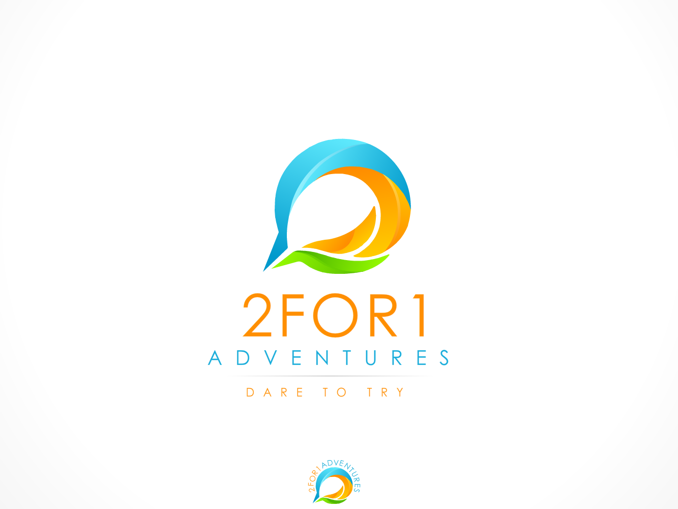 Logo needed for 2 for 1 Adventures