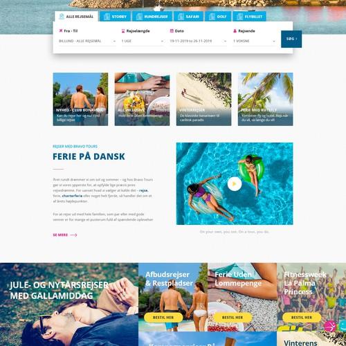 Travel Blog Design