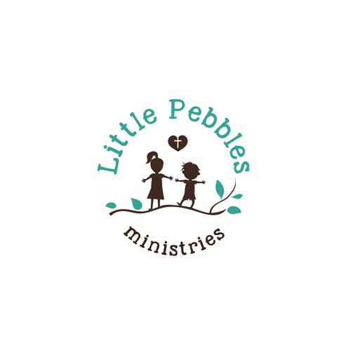 Logo concept for the orphans Little Pebbles ministries