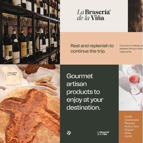 Brand Identity for a Spanish restaurant chain