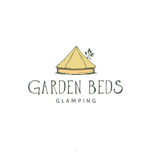 Logo for luxury camping (glamping)