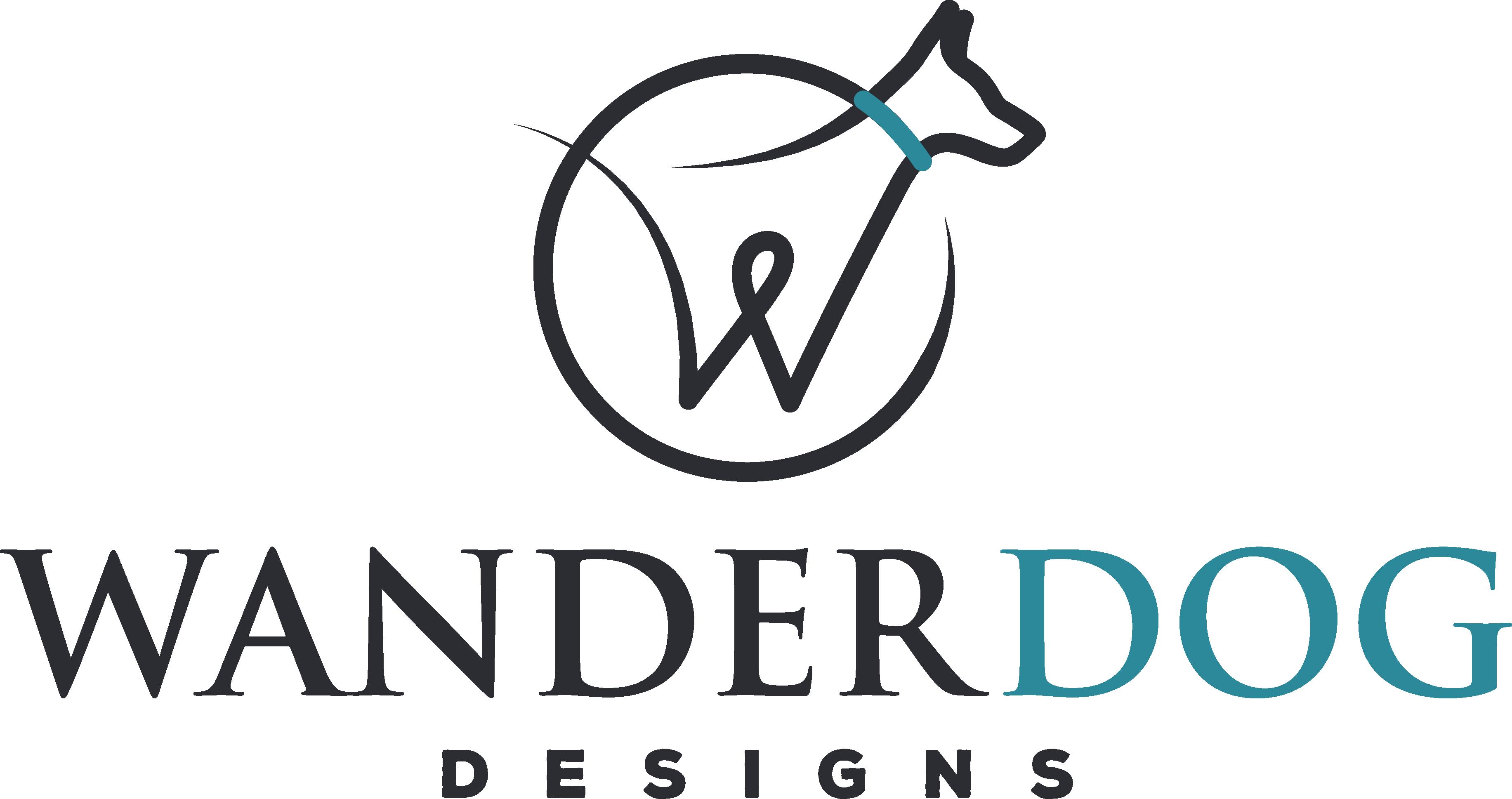 Dog gear company, WanderDog Designs, needs a striking new logo