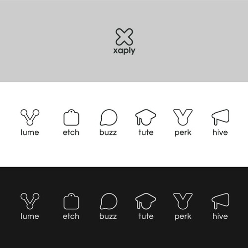 6 icon set for Xaply