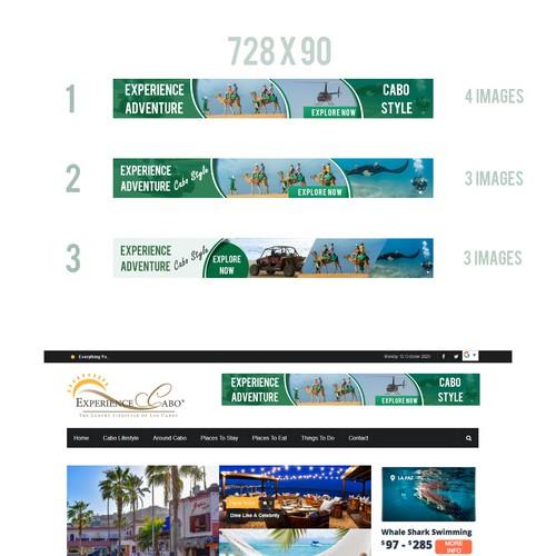 Tourism Banner Design
