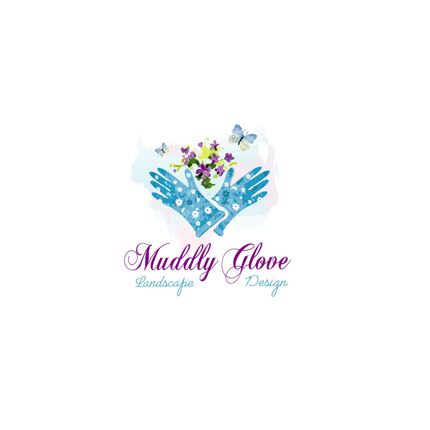 cool name... Muddy Glove Landscape Design... how about a cool and beautiful logo to go with it?