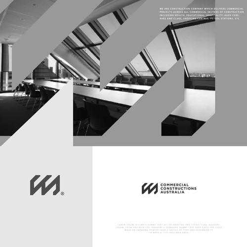 Design a clean and crisp logo for Commercial Constructions Australia