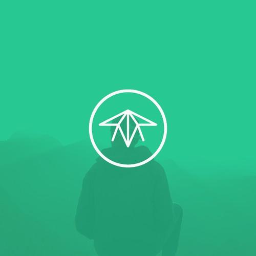Minimal plane logo
