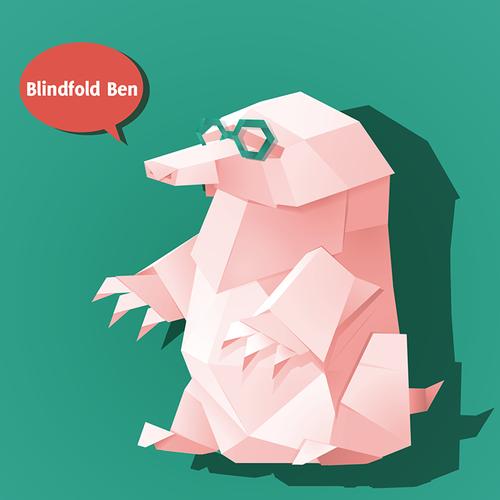 origami mole