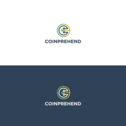 Logo concept for a cryptocurrency blog.