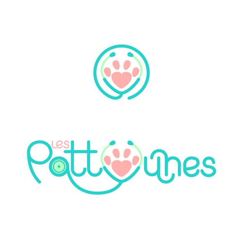 Logo concept for veterinary clinic