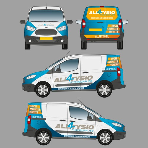 ALL4FYSIO Van Wrap