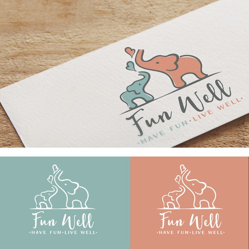 Fun, playful logo for a baby company