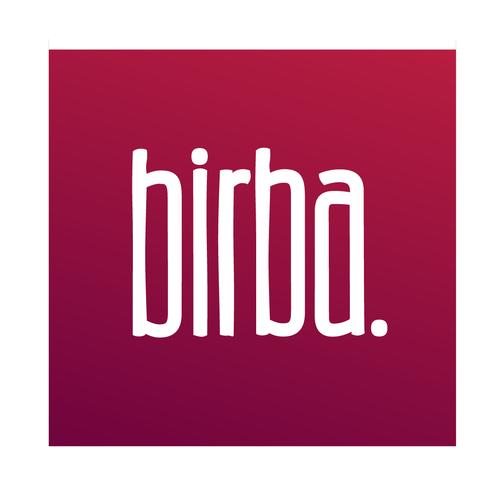 Design a logo for a small wine bar in SF, birba.
