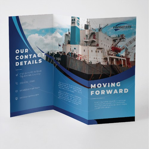 Brochure for Freighter company