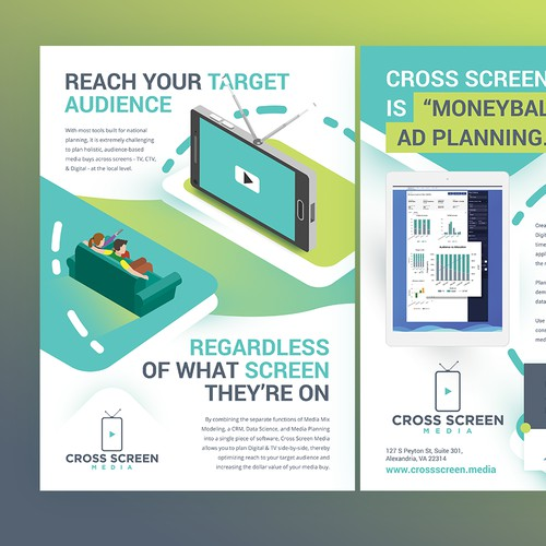 Tv Marketing Analytics Software Flyer