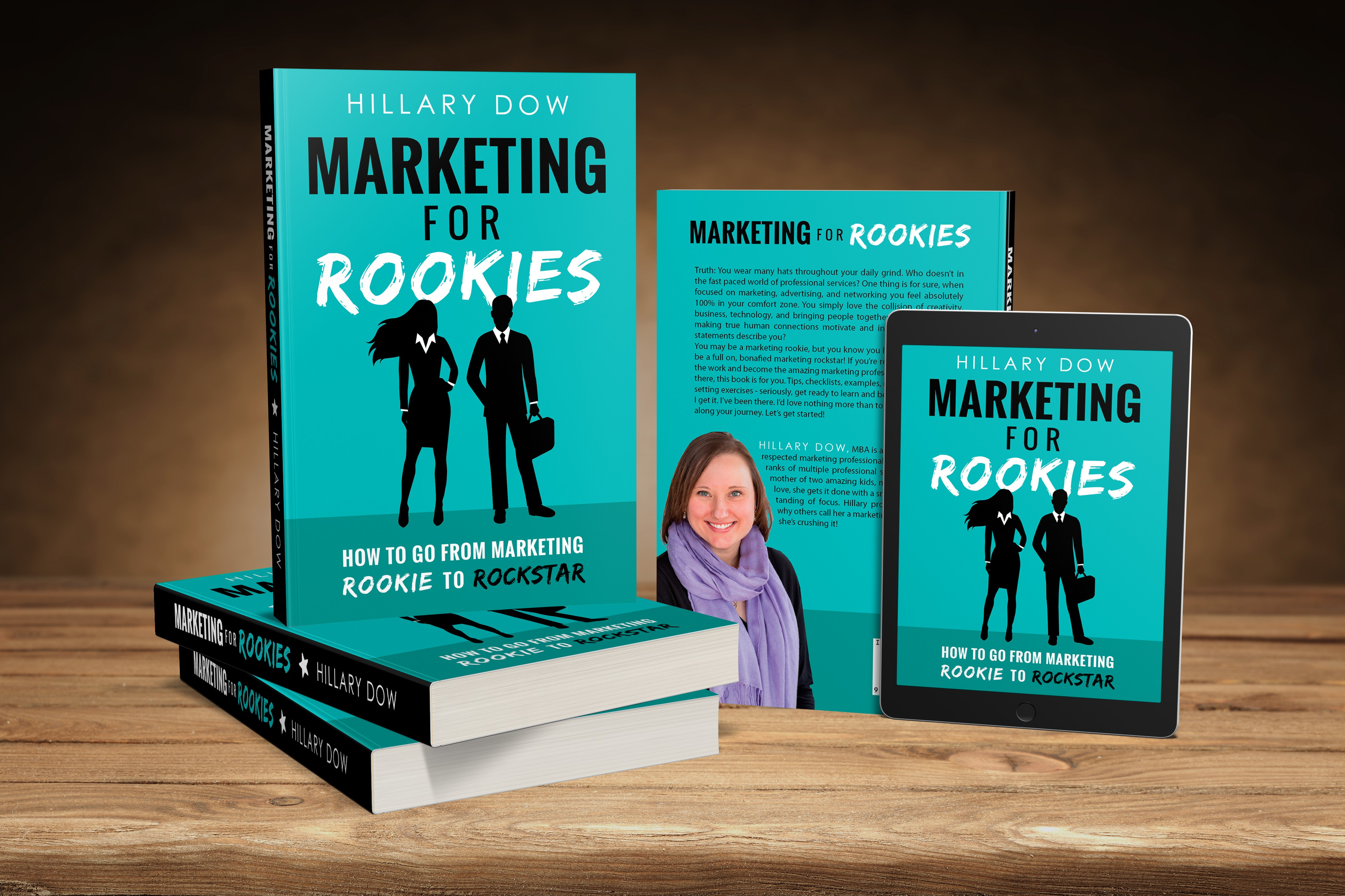 book mock up for marketing